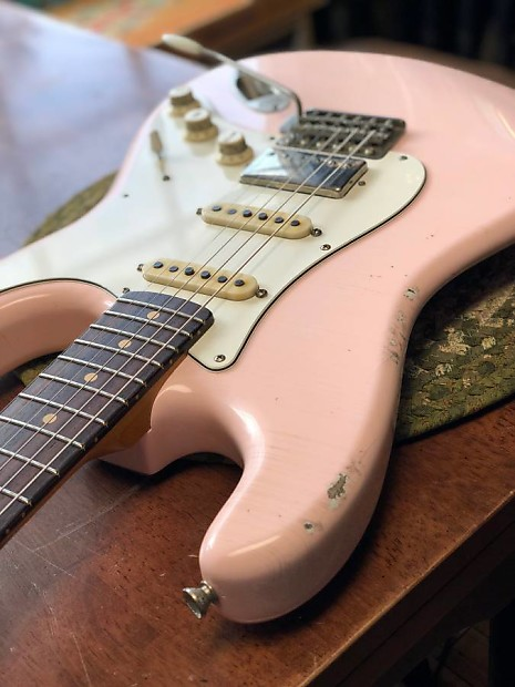 tmg dover 2017 faded shell pink   guitar gear
