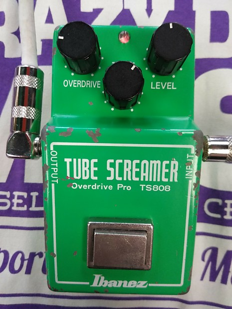 ibanez ts808 tube screamer 1981 jrc4558d