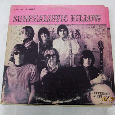 Image of Jefferson Airplane - Surrealistic Pillow - Vinyl - 1 of 1