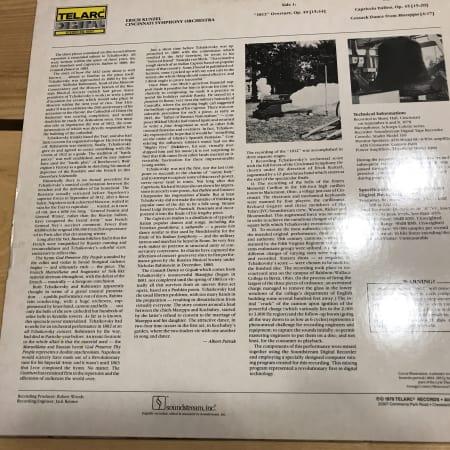 """Erich Kunzel - 1812 / Capriccio Italien / """"Cossack Dance"""" From Mazeppa - Vinyl"""
