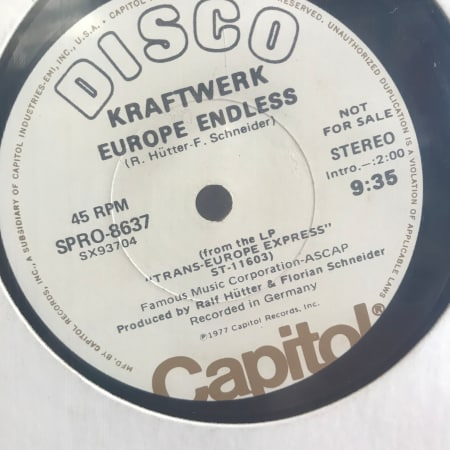 Kraftwerk - Europe Endless / Trans-Europe Express / Metal On Metal - Vinyl