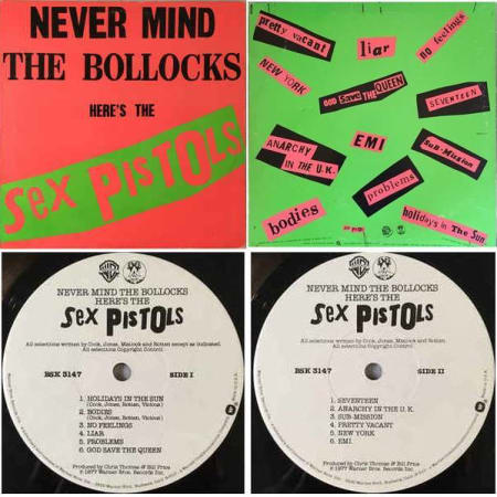 Image of Sex Pistols - Never Mind The Bollocks Here's The Sex Pistols - Vinyl - 1 of 7