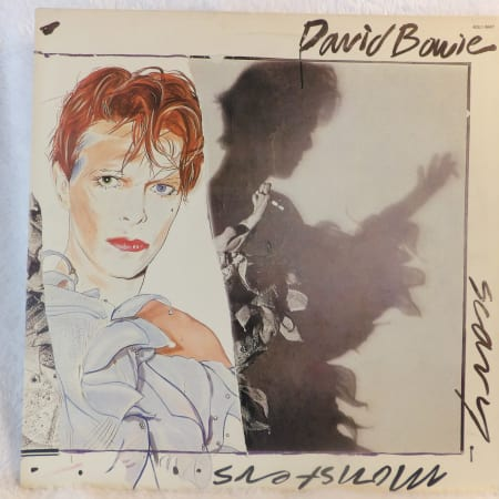 Image of David Bowie - Scary Monsters - Vinyl - 1 of 6