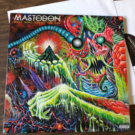 Image of Mastodon - Once More 'Round The Sun - Vinyl - 1 of 12