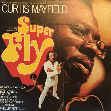 Curtis Mayfield - Super Fly (The Original Motion Picture Soundtrack) - Vinyl
