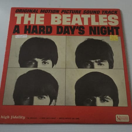 Image of The Beatles - A Hard Day's Night (Original Motion Picture Sound Track) - Vinyl - 1 of 2