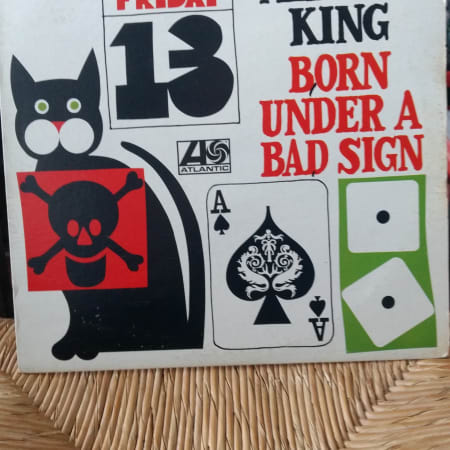 Image of Albert King - Born Under A Bad Sign - Vinyl - 1 of 4