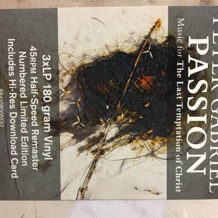 Peter Gabriel - Passion - Vinyl