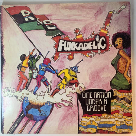 Funkadelic - One Nation Under A Groove - Vinyl