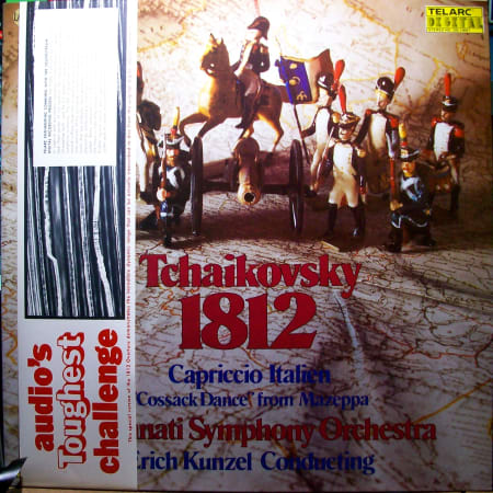 "Cincinnati Symphony Orchestra - 1812 ⋆ Capriccio Italien ⋆ ""Cossack Dance"" - Vinyl"