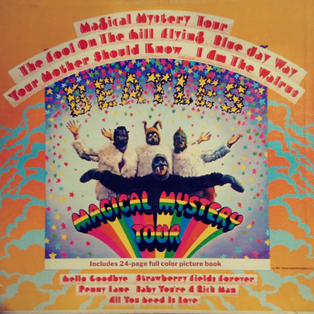 Image of The Beatles - Magical Mystery Tour - Vinyl - 1 of 5