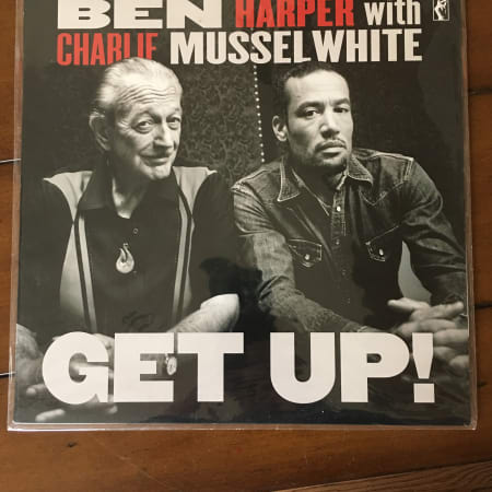Image of Charlie Musselwhite - Get Up!  - Vinyl - 1 of 1