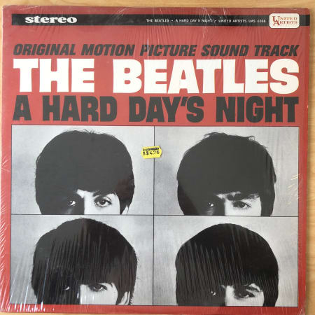 The Beatles - A Hard Day's Night - Vinyl