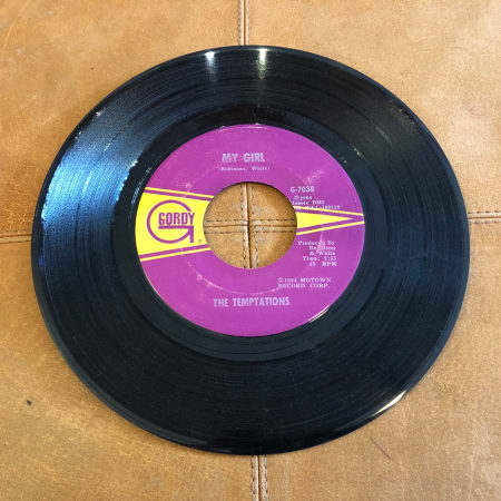 The Temptations - My Girl / (Talkin' 'Bout) Nobody But My Baby - Vinyl