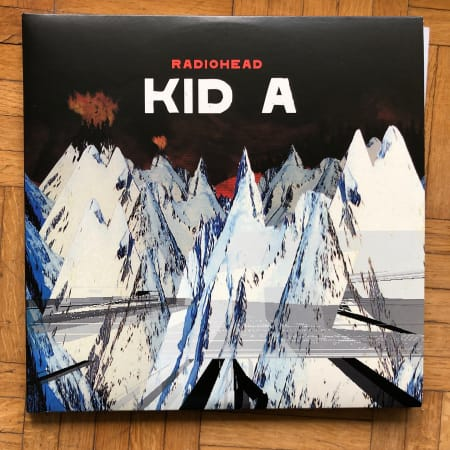 Image of Radiohead - Kid A - Vinyl - 1 of 1