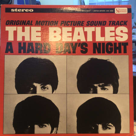 Image of The Beatles - A Hard Day's Night (Original Motion Picture Sound Track) - Vinyl - 1 of 4