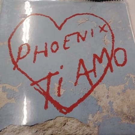 Image of Phoenix - Ti Amo - Vinyl - 1 of 2
