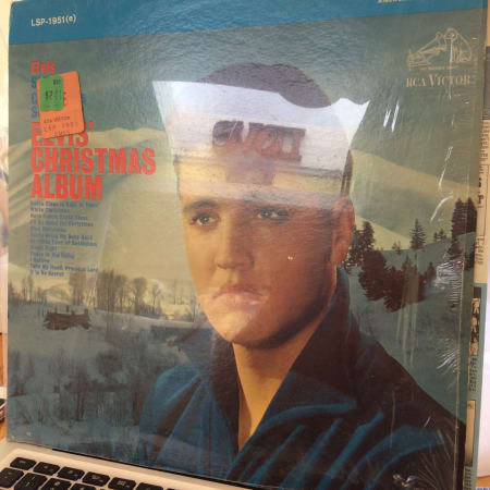 Elvis Christmas Album Vinyl.Elvis Presley Elvis Christmas Album New And Used Vinyl