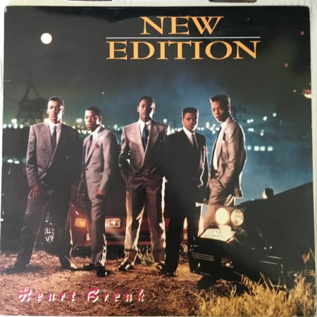 New Edition - Heart Break - Vinyl