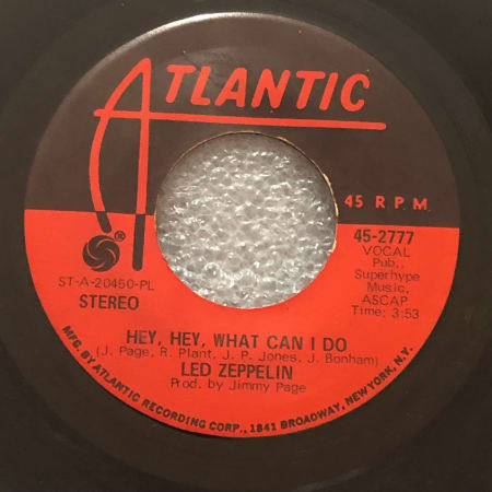 Led Zeppelin - Immigrant Song / Hey, Hey, What Can I Do