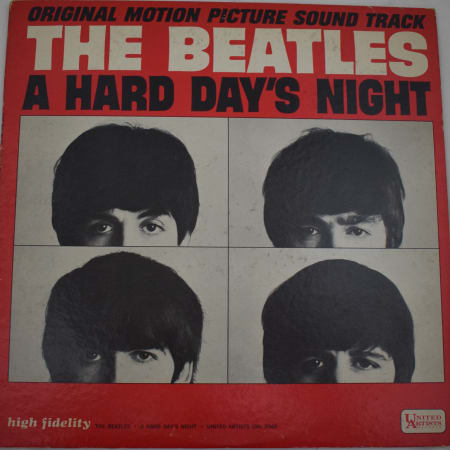 The Beatles - A Hard Day's Night (Original Motion Picture Sound Track) - Vinyl