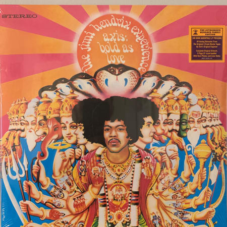 The Jimi Hendrix Experience - Axis: Bold As Love - Vinyl
