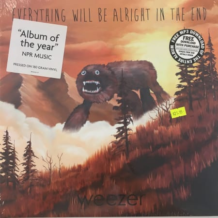 Weezer - Everything Will Be Alright In The End - Vinyl