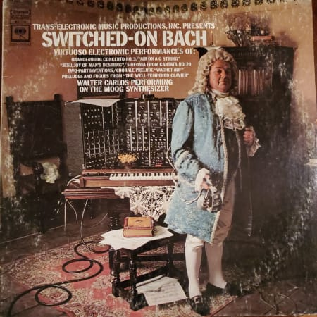 Walter Carlos - Switched-On Bach - Vinyl