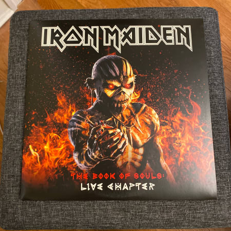 Image of Iron Maiden - The Book Of Souls: Live Chapter - Vinyl - 1 of 2