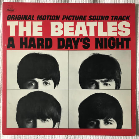 Image of The Beatles - A Hard Day's Night - Vinyl - 1 of 2