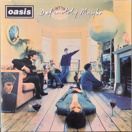 Oasis (2) - Definitely Maybe - Vinyl