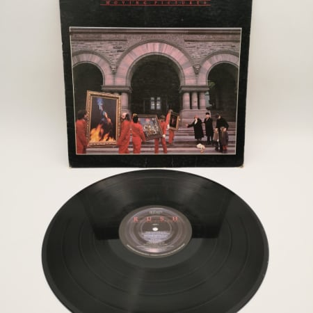 Image of Rush - Moving Pictures - Vinyl - 1 of 1