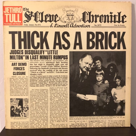 Jethro Tull - Thick As A Brick - Vinyl