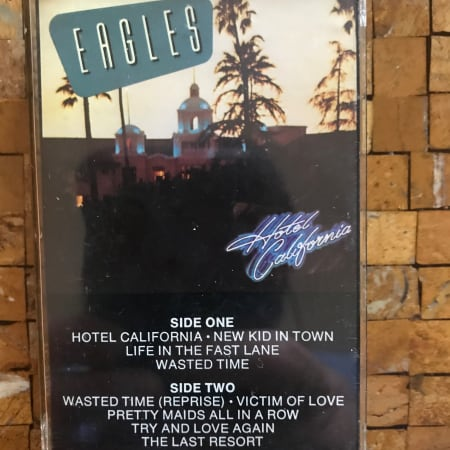 Eagles - Hotel California - Cassette