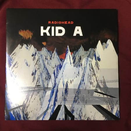 Image of Radiohead - Kid A - Vinyl - 1 of 2