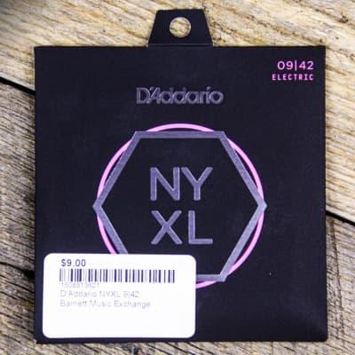 D'Addario NYXL0942 Nickel Wound Electric Guitar Strings, Super Light Gauge