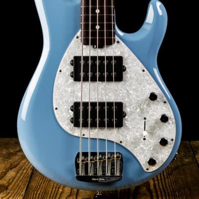 Music Man StingRay5 Special HH - Chopper Blue - Free Shipping