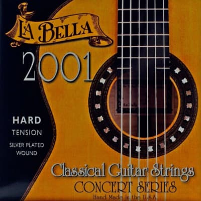 LaBella 2001 Classical Guitar Strings - Hard Tension for sale