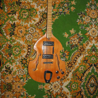 Vintage Kremona (Cremona) Violin bass of Bulgaria 60s in сollector condition for sale