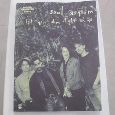 Soul Asylum Let Your Dim Light Shine Sheet Music Song Book Guitar Tab Tablature