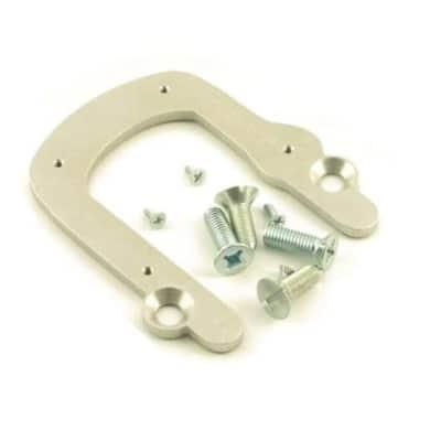 Vibramate V5-LH Quick Mounting Kit for Bigsby B5 Vibrato - Left Handed - Chrome