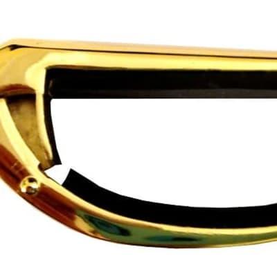 Dunlop Victor Bronze Flat Capo for Flat Radius Guitars