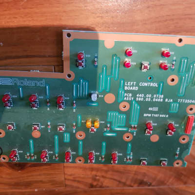 Roland DISCOVER 5 switch board left