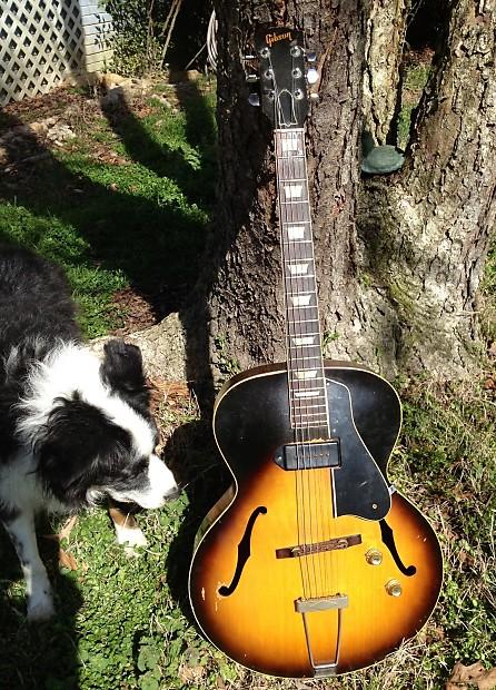 ff3bb3c203937 Bob Margolin's Gibson ES-150 1956 Sunburst | Reverb