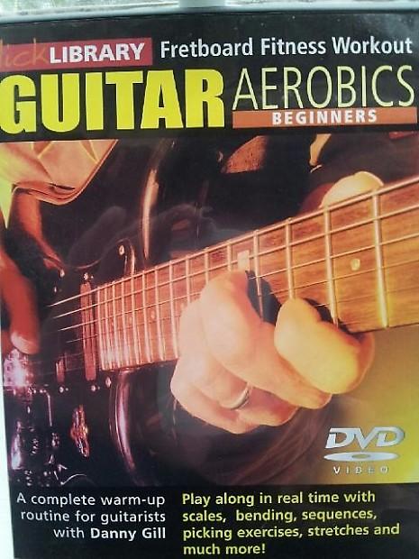 Lick library guitar aerobics advanced