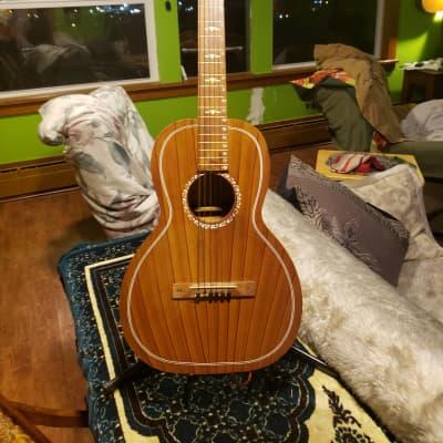 Regal Hawaiian Square Neck Parlor Guitar 1930s or 40s Mahogany