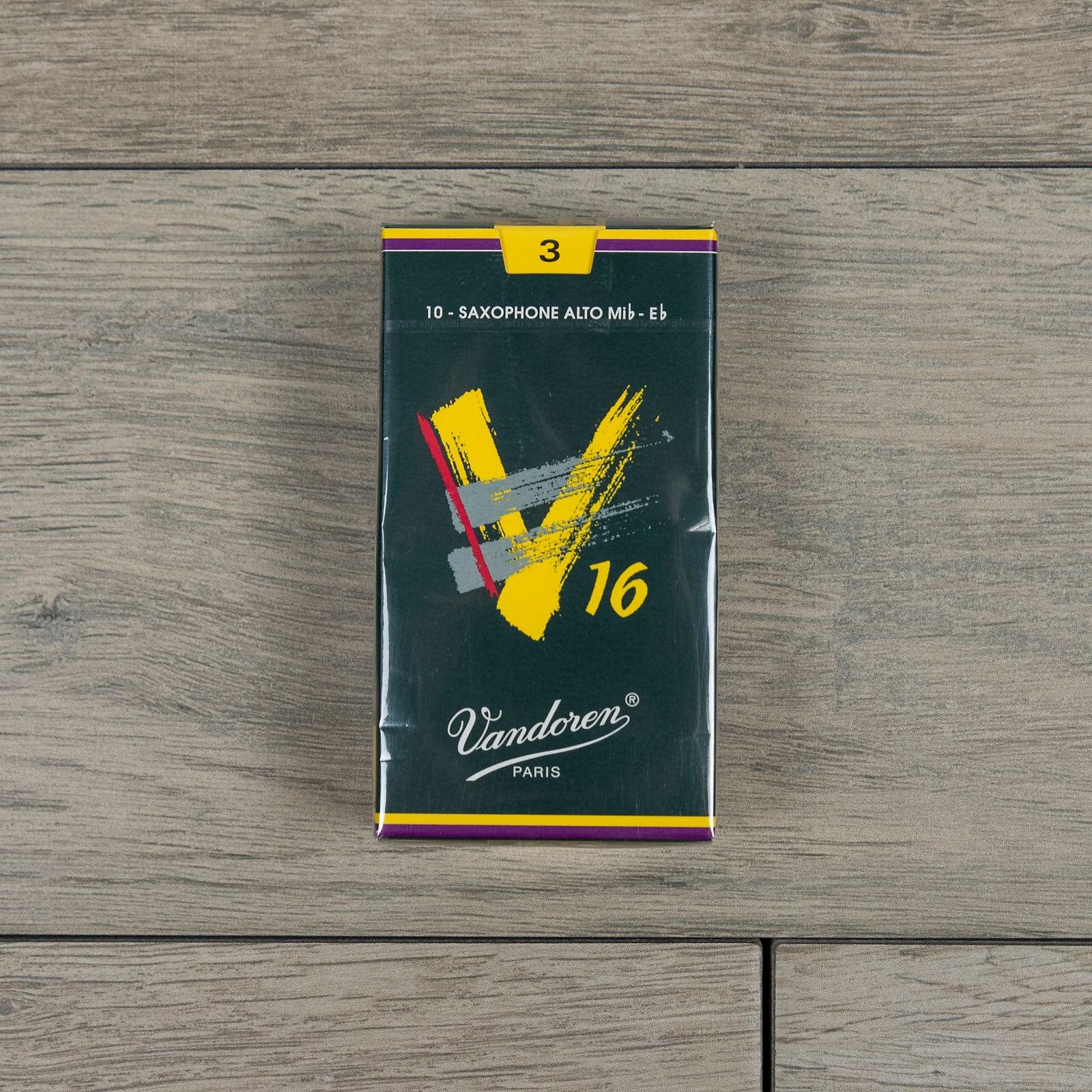 Box of 10 Strength 3.0 Vandoren Traditional Alto Saxophone Reeds