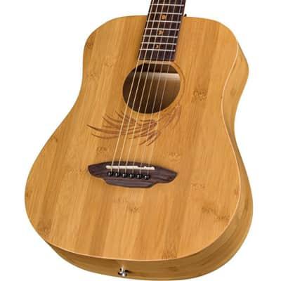 Luna Safari Bamboo Travel Guitar - Satin Natural