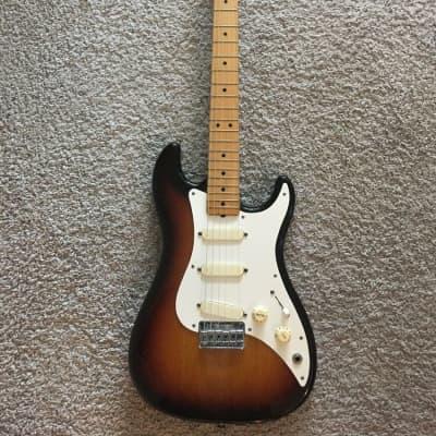 Fender Bullet S-3 USA MIA 1981 Sunburst Telecaster Maple Neck Rare Vintage Guitar for sale