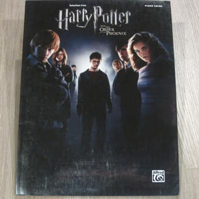 Harry Potter and the Order of the Phoenix Sheet Music Song Book Songbook Piano Solos